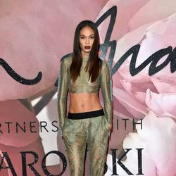 Joan Smalls en los British Fashion Awards 2016