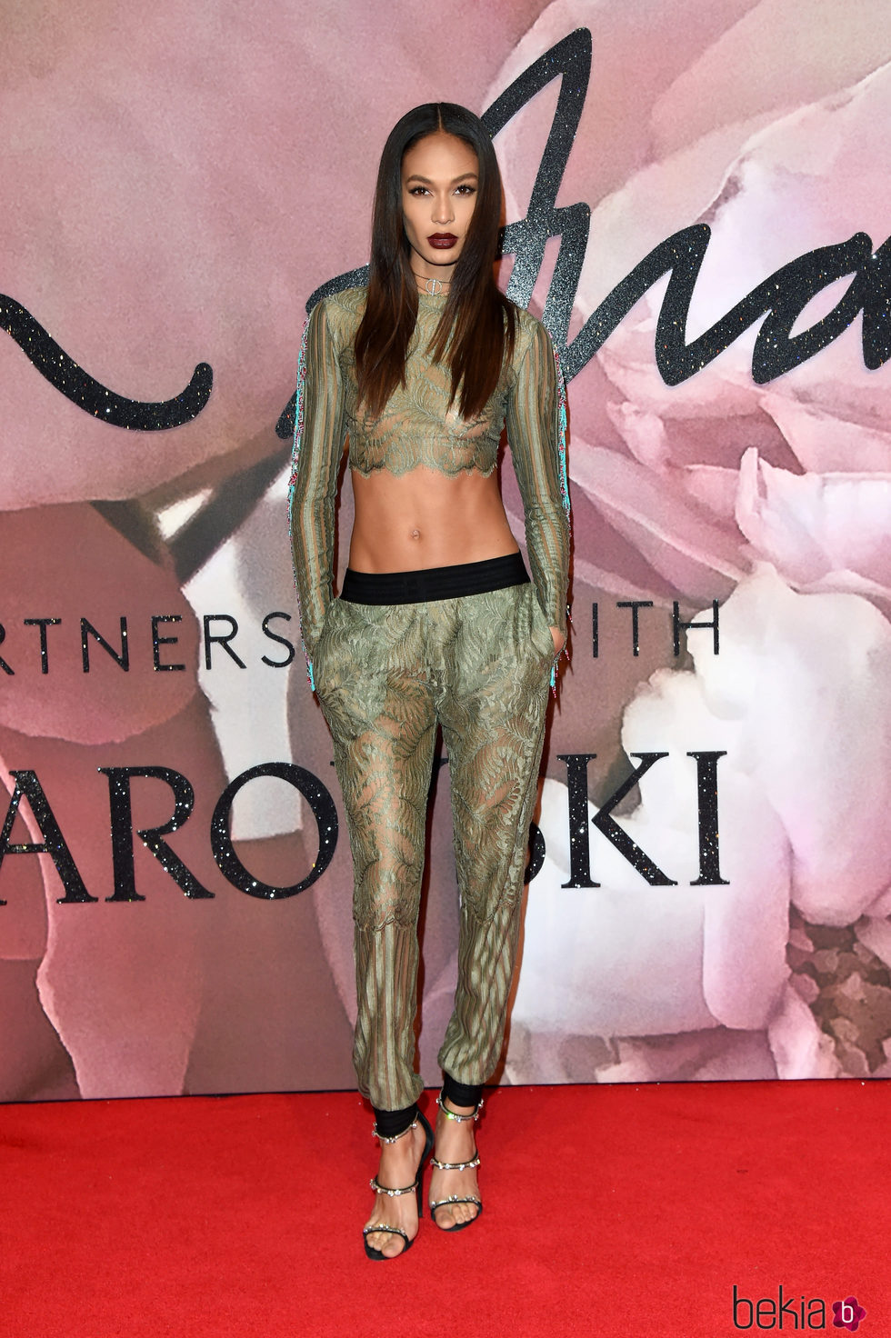 Joan Smalls en los British Fashion Awards 2016