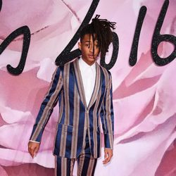 Jaden Smith en los British Fashion Awards 2016