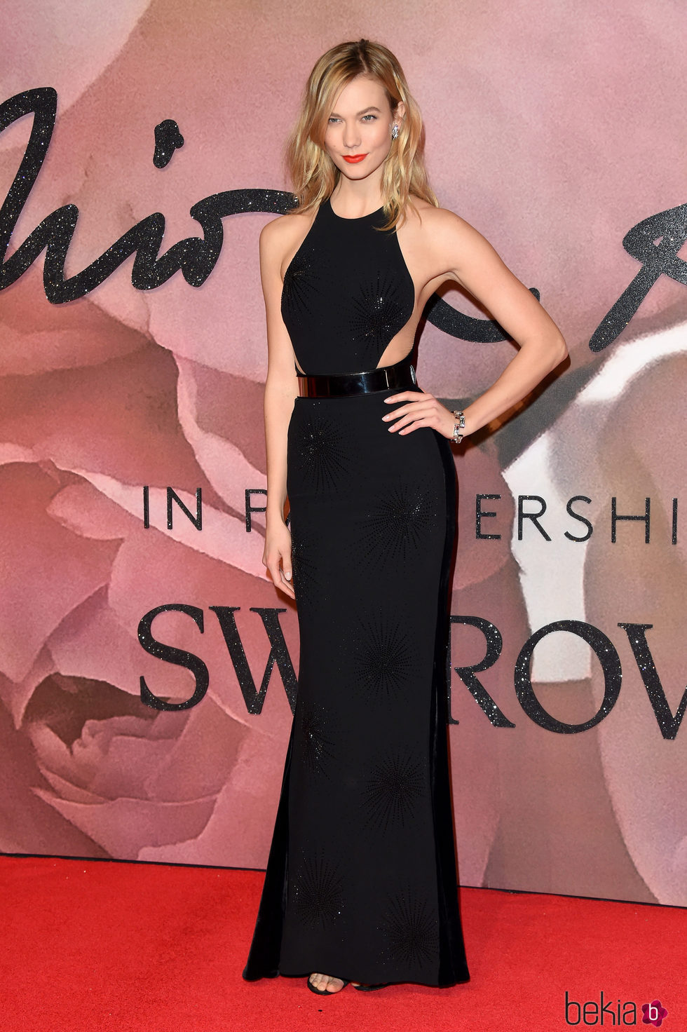 Karlie Kloss en los British Fashion Awards 2016