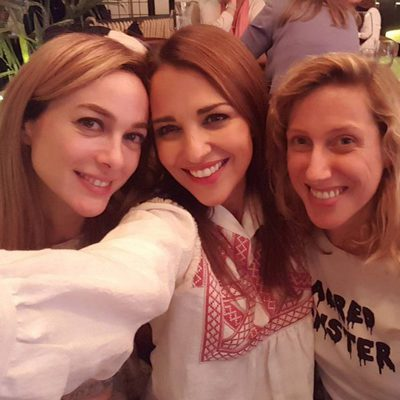 Paula Echevarría, Marta Hazas y Cecilia Freire: reunión de Chicas Velvet
