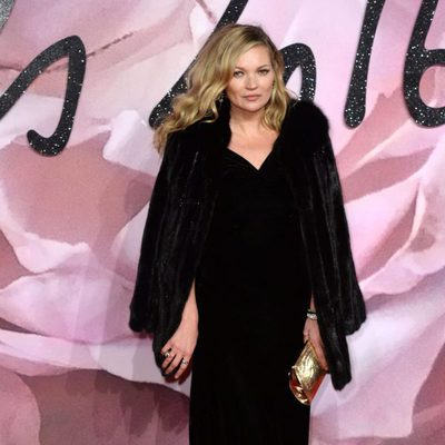 Kate Moss en los British Fashion Awards 2016