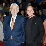 Donald y Kiefer Sutherland en el Toronto International Film Festival 2015