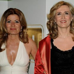 Las periodistas Consuelo Berlanga y Nieves Herrero