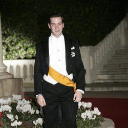 Guillermo de Luxemburgo vestido de gala