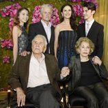Kirk Douglas celebra su 100 cumpleaños junto a su familia