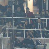 Cristiano Ronaldo y Georgina Rodríguez disfrutando del Real Madrid-Deportivo