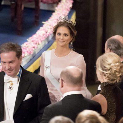 Magdalena de Suecia y Chris O'Neill en los Premios Nobel 2016
