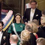 Carlos Felipe de Suecia y Sofia Hellqvist en los Premios Nobel 2016