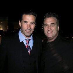 William y Daniel Baldwin en un evento en Los Ángeles
