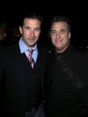 William y Daniel Baldwin en un evento en Los Ángeles