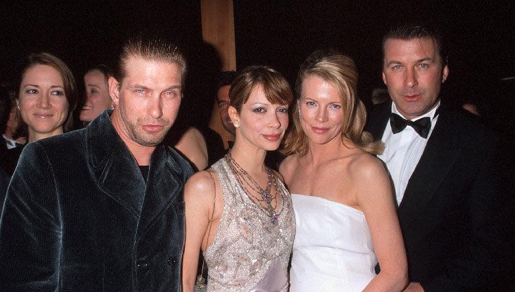 Alec y Stephen Baldwin en un evento con sus parejas