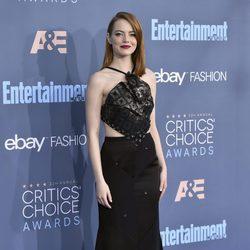 Emma Stone en los Critics' Choice Awards 2017