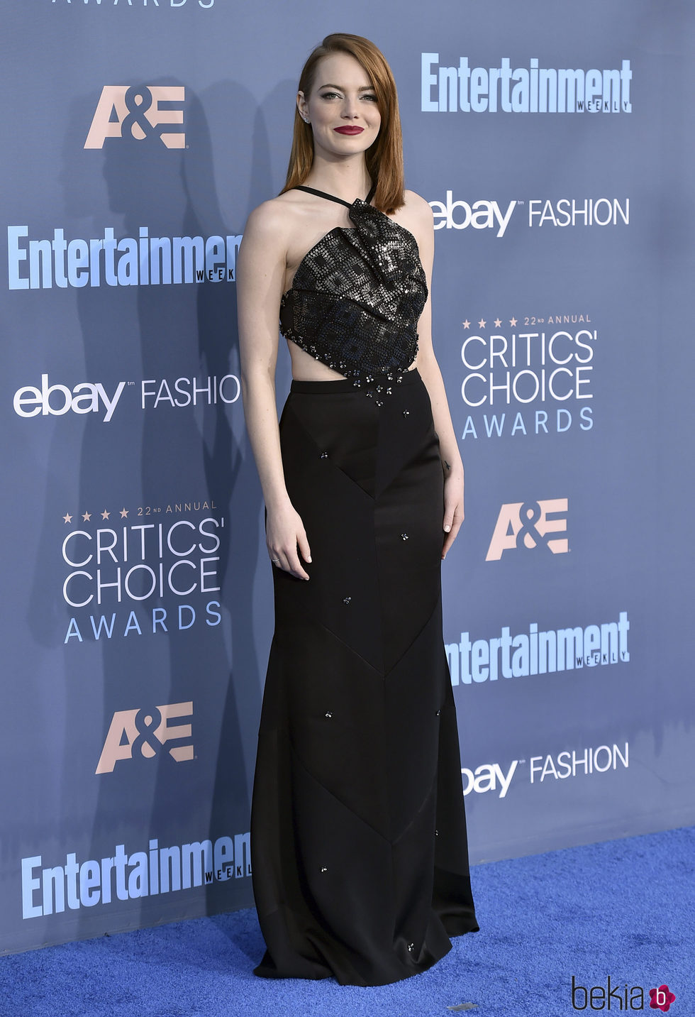 Emma Stone en los Critics' Choice Awards 2017