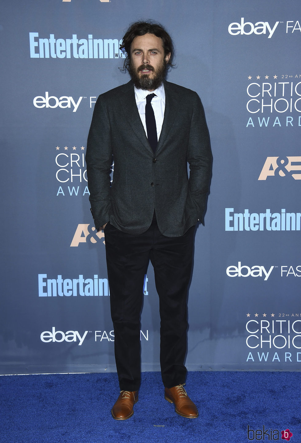 Casey Affleck en los Critics' Choice Awards 2017