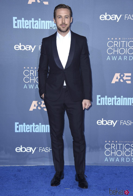 Ryan Gosling en los Critics' Choice Awards 2017