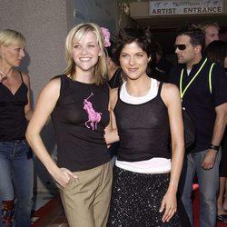 Reese Witherspoon y Selma Blair en los Teen Choice Awards 2002
