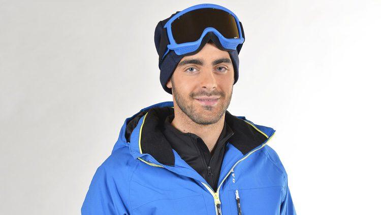 Jesús Tomillero posa como concursante de la 'Sálvame Snow Week'