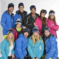 Los concursantes de la 'Sálvame Snow Week' al completo