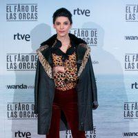 Irene Visedo en la premiere de 'El faro de las orcas'