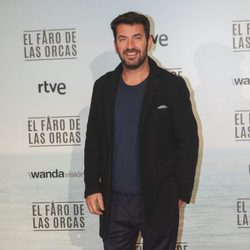 Arturo Valls en la premiere de 'El faro de las orcas'