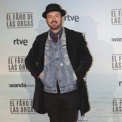 Álex O'Dogherty en la premiere de 'El faro de las orcas'