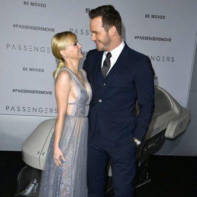 Chris Pratt y Anna Faris, muy cómplices en la premiere de 'Passengers'