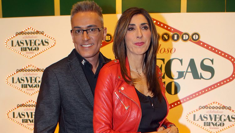 Kiko Hernández y Paz Padilla en Bingo Las Vegas