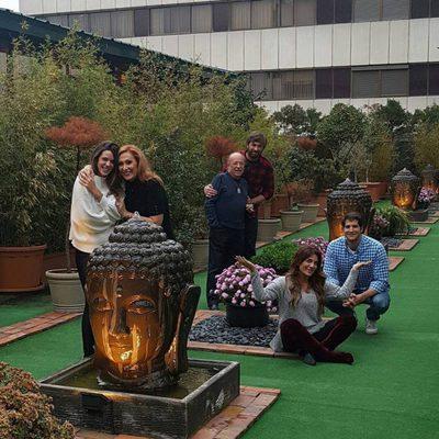 Rosa Benito, Raquel Bollo o Laura Matamoros se reúnen en la casa de Rappel