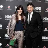 Carlos Bardem y Cecilia Gessa en la fiesta de lanzamiento de HBO en España