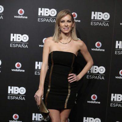 Kira Miró en la fiesta de lanzamiento de HBO en España