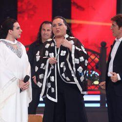 Blas Cantó y Falete en 'Tu cara me suena'