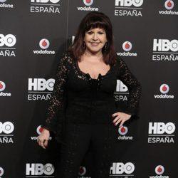 Loles León en la fiesta de lanzamiento de HBO en España