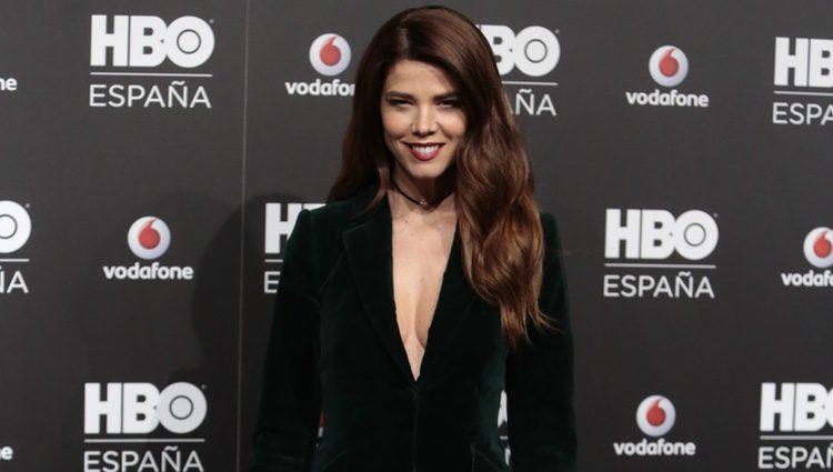 Juana Acosta en la fiesta de lanzamiento de HBO en España
