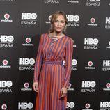 Marta Larralde en la fiesta de lanzamiento de HBO en España