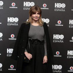 Miriam Giovanelli en la fiesta de lanzamiento de HBO en España