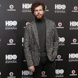 Álvaro Cervantes en la fiesta de lanzamiento de HBO en España