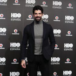 Miguel Ángel Muñoz en la fiesta de lanzamiento de HBO en España