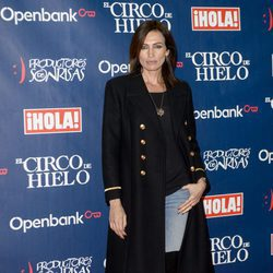 Nieves Álvarez en el estreno del Circo del Hielo