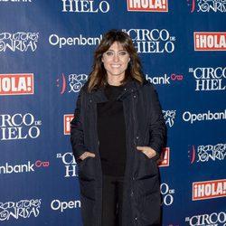Helena Resano en el estreno del Circo del Hielo