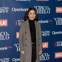 Toni Acosta en el estreno del Circo del Hielo