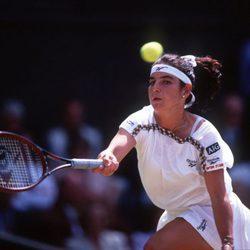 Arantxa Sánchez Vicario en Wimbledon 1995