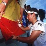 Arantxa Sánchez Vicario en el Australia Open 1996