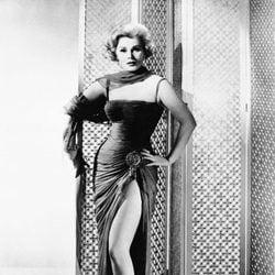 Zsa Zsa Gabor en la película 'Queen of Outer Space' en 1958