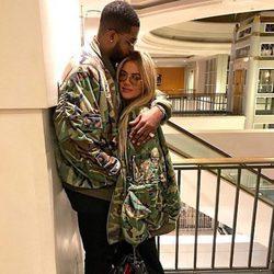 Khloe Kardashian y su novio Tristan Thompson