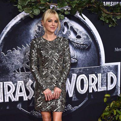 Anna Faris en la premiere de 'Jurassic World' en Los Angeles