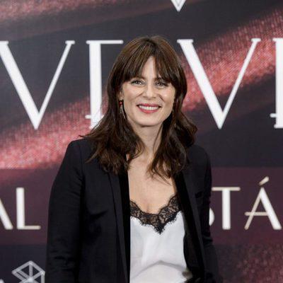 Aitana Sánchez Gijón en la fiesta del final de 'Velvet'