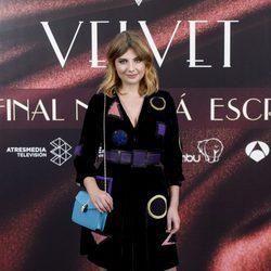Miriam Giovanelli en la fiesta por el final de 'Velvet'