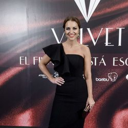 Paula Echevarría en la fiesta por el final de 'Velvet'