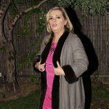 Carmen Borrego celebrando la Nochebuena